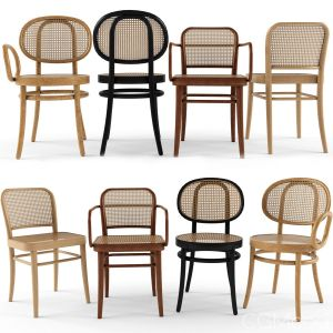 4 Chair N. 811 Chair N.0 Front Josef Hoffamnn
