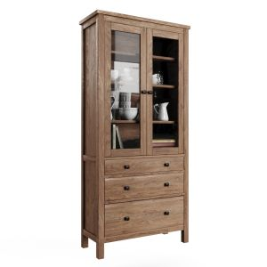 Wardrobe Showcase Ikea Hemnes