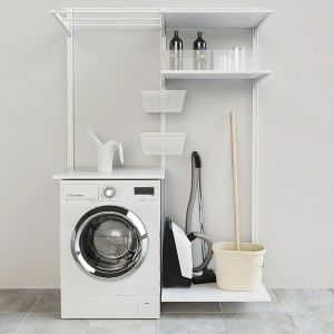 Ikea Wall Rail / Shelves / Dryer Algot