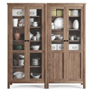 Wardrobe Showcase Ikea Hemnes / Utensils