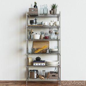 Ikea Shelves Section Omar