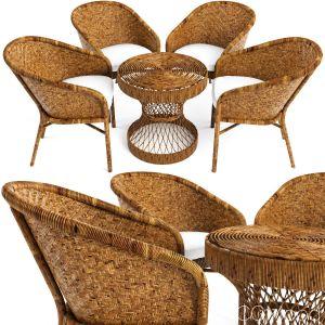 Rattan Furniture Is Woven Safavieh