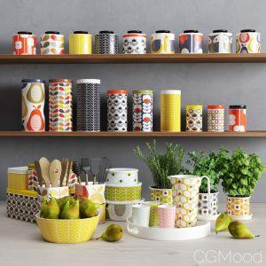 Orla Kiely Kitchen Set