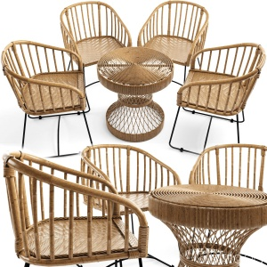 Wicker Rattan Furniture Is Woven Safavieh