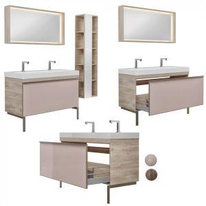 Furniture Set Geberit Citterio 118 Dark/light Oak