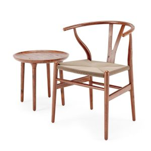 Ch24 Chair & Side Table