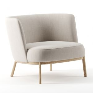Shift Wood Low Armchair By Offecct