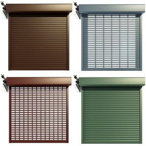 External Motor Roll Shutter Systems