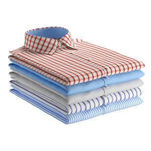 Folded Shirts Set 1