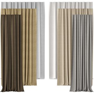 Curtains 130 | Hr | Belgian Textured Linen Drapery