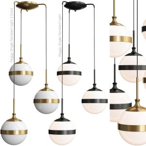 Peggy Single Pendant Light 3 Gold