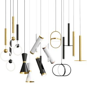 Super Exclusive Pendant Lights Set 2