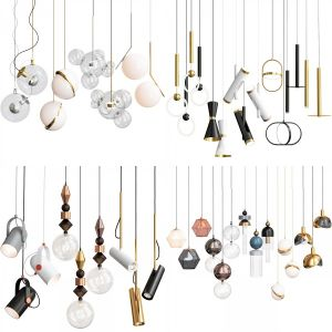 Pendant Lights Collection (4 assets included)