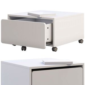 Ikea Slakt Storage Box With Casters