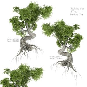 Stylized Tree_01