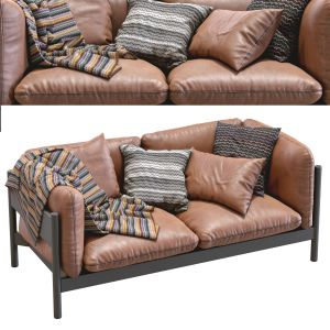 Arbour Leather Sofa By Hay