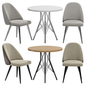 Aldo Chair And Francis Table