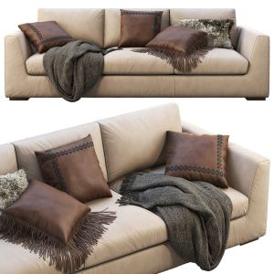 Restoration Hardware Modena Taper Arm Sofa