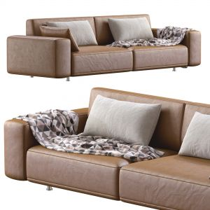 Sofa Dianne Cross Leather