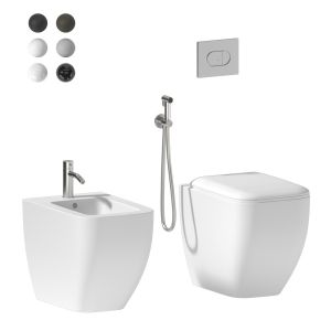 Cielo Shui Comfort Back To Wall Wc/bidet