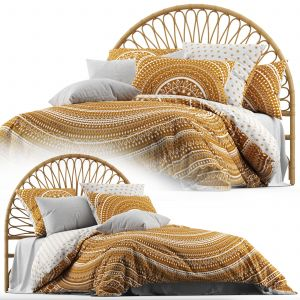 Home Republic Karma Quilted Cinnamon Quilt Cover
