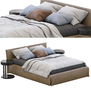 Leather Bed Fox By Meridiani