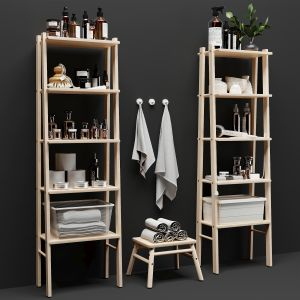Decorative Set Shelving Ikea Wilto