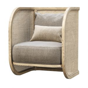 Rimma Rattan Restaurant Chair V02