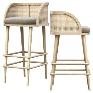 Rimma Rattan Bar Stool Dr78