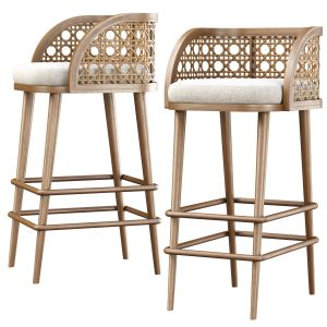 Rimma Rattan Bar Stool Ds67