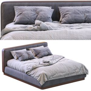 Bed Ermes By Flou