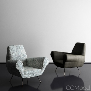 Armchairs Gigi Radice By Minotti