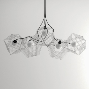 Grido - modern geometric ceiling lamp