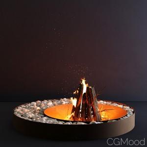 AK47 Zen - Fireplace