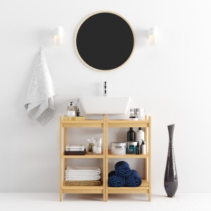 Decorative Bathroom Set 4