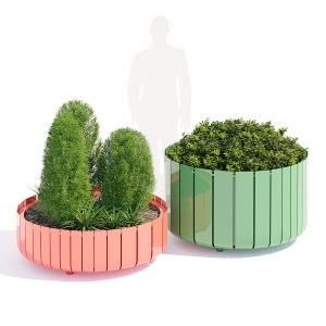 Stripes Planter Two