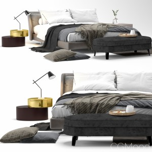 Spencer Bed Minotti