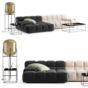 Sofa B&b With Decor