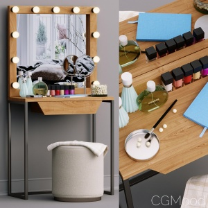 Decorative Set Dressing Table Makeup Set