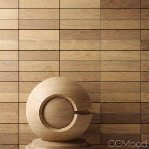 Quick materials: One-texture wood with random variations in FStormRender