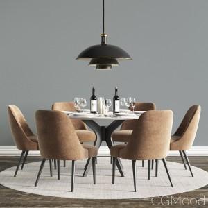 Modern Dinning Set 04