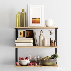 Decor Set 17 (shelves)