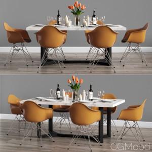 Modern Dinning Set 07
