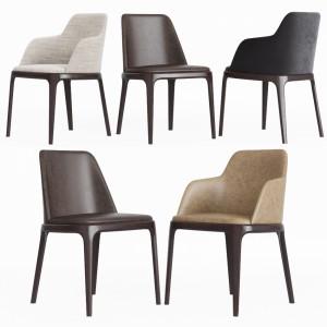 Poliform Grace Dinning Chair Set