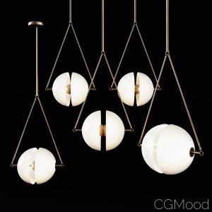 Hanging lamp Bagens