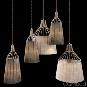 Designer lamp Redreta
