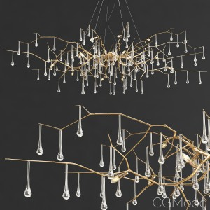 Bijout Chandelier By Serip Lighting