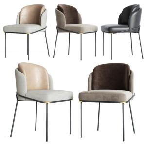 Minotti Fil Noir Dining Chair
