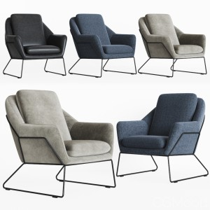 Loft Design. Armchair Model 2549, 3855