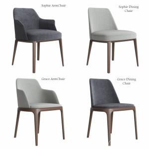 Poliform Sophie & Grace Chair Set